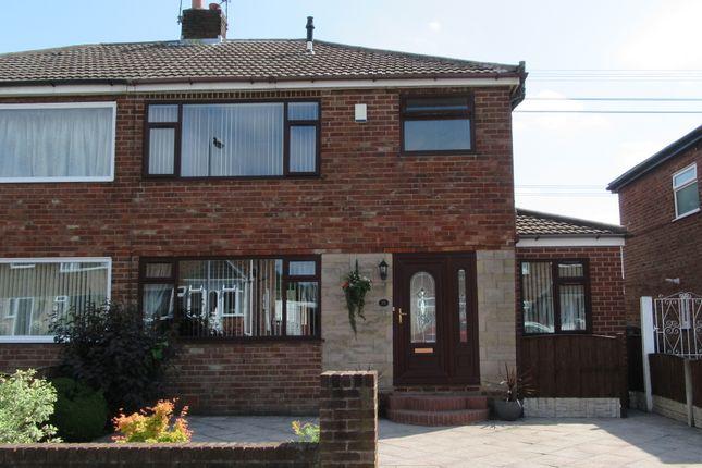 Thumbnail Semi-detached house for sale in Mooreway, Rainhill