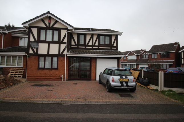 Thumbnail Detached house to rent in The Bantocks, West Bromwich