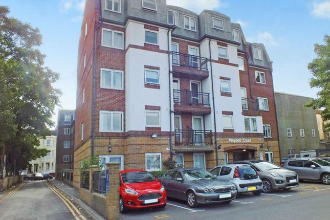 Thumbnail Flat to rent in Pleydell Gardens, Folkestone