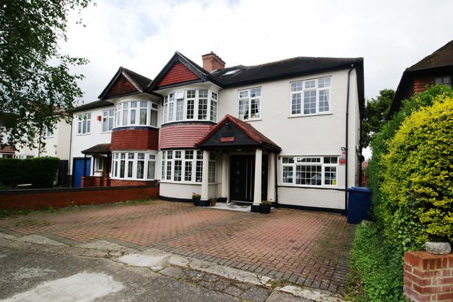 Thumbnail Semi-detached house for sale in Cranborne Avenue, Southall