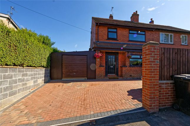 Thumbnail Semi-detached house for sale in Cotefields Avenue, Farsley, Pudsey, West Yorkshire