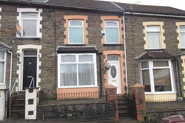 Thumbnail Terraced house to rent in The Avenue, Pontygwaith, Ferndale