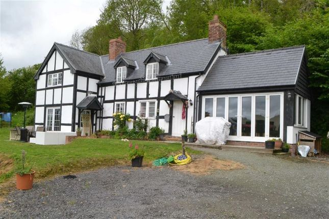 Thumbnail Detached house for sale in Church House, Fron, Montgomery, Powys