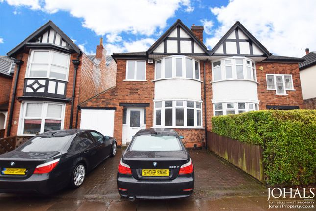 Thumbnail Semi-detached house to rent in Narborough Road, Leicester