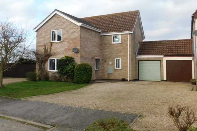 Link-detached house for sale in Combs Green, Combs, Stowmarket
