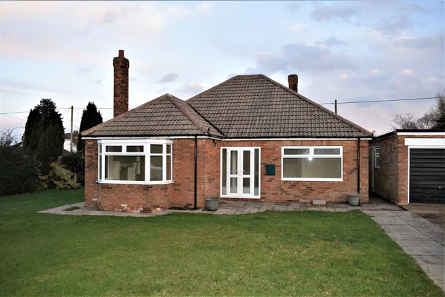 Thumbnail Bungalow to rent in Kirton Road, Scawby, Brigg