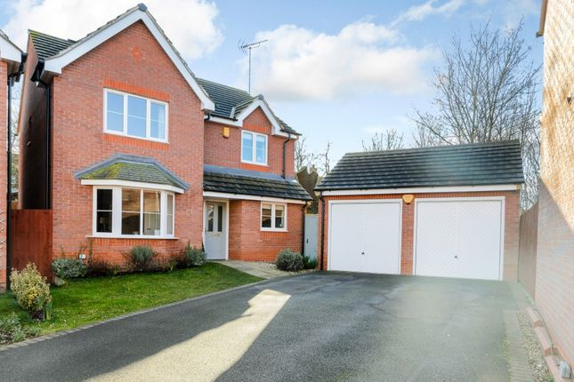 Thumbnail Detached house for sale in Portland Way, Clipstone Village, Mansfield, Nottinghamshire