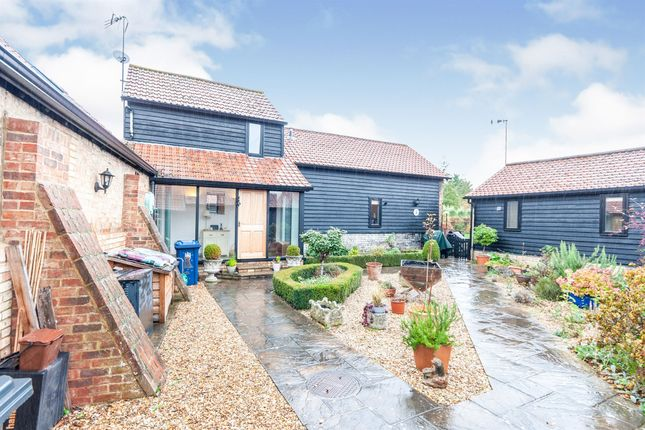 Thumbnail Link-detached house for sale in Church Farm Lane, Steeple Morden, Royston