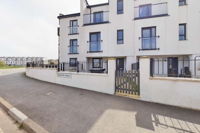 Thumbnail Town house for sale in Waddeton Road, Paignton