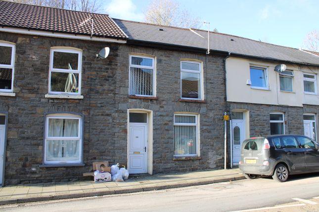 Exterior  of Llewellyn Street, Pontygwaith CF43