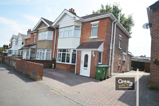 Thumbnail Semi-detached house for sale in Wilton Crescent, Upper Shirley, Southampton