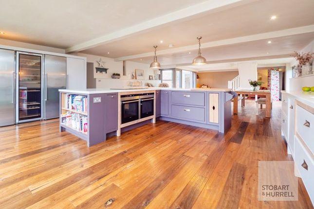 Kitchen Area of East Barn, High Street, Sloley, Norfolk NR12