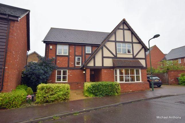 Thumbnail 4 bedroom detached house for sale in Garwood Crescent, Grange Farm, Milton Keynes