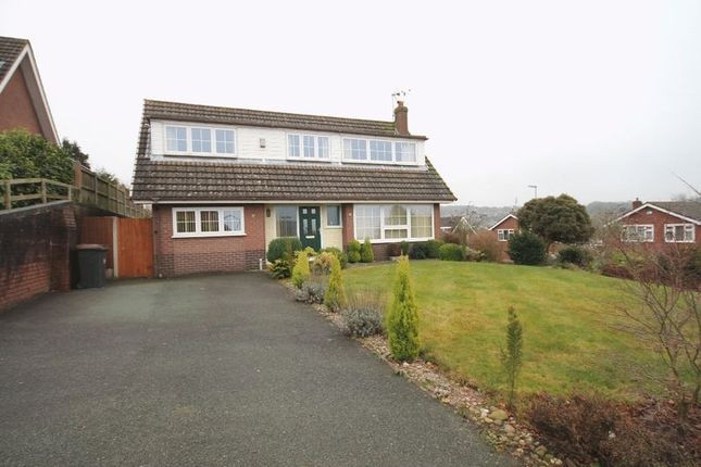 Thumbnail Detached house for sale in St Marys Road, Loggerheads, Market Drayton