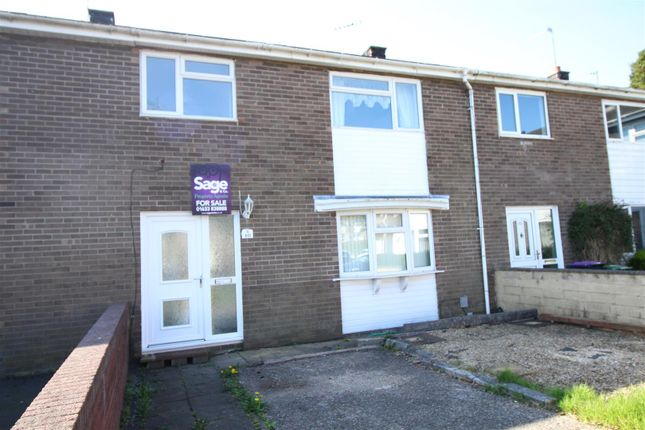 Thumbnail Terraced house for sale in Whitebrook Way, Cwmbran