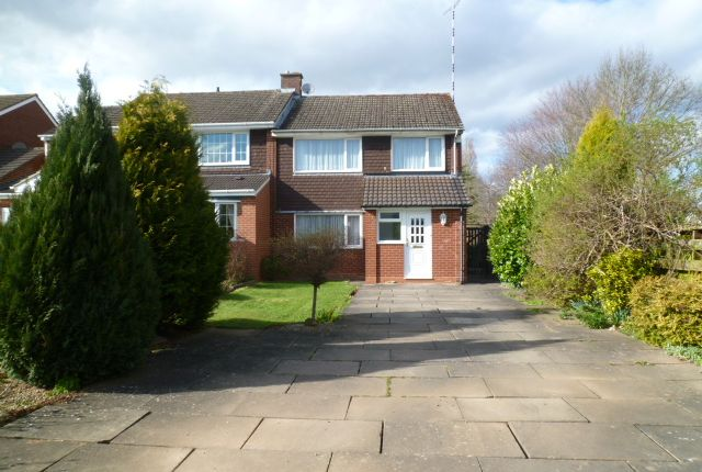 Thumbnail Semi-detached house to rent in Girdlers Close, Styvechale, Coventry, West Midlands
