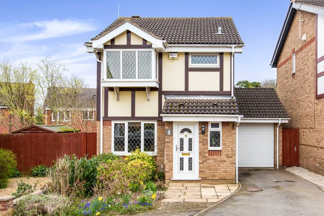 Thumbnail Detached house for sale in Andrews Way, Raunds, Wellingborough