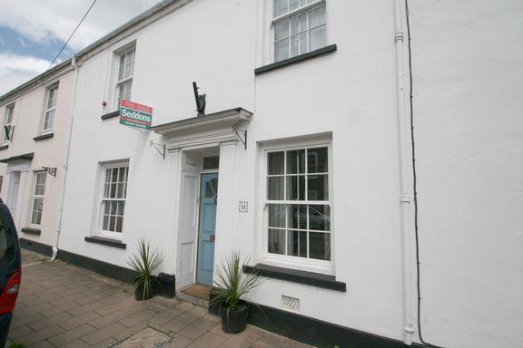 Thumbnail Terraced house for sale in National Terrace, Brook Street, Bampton, Tiverton