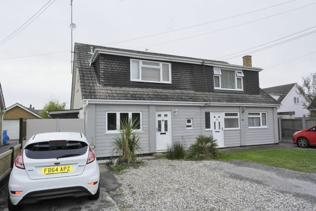 Thumbnail Semi-detached house for sale in Princes Avenue, Mayland, Chelmsford