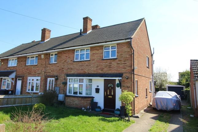 Thumbnail End terrace house for sale in St. Marys Road, Wootton, Bedford, Bedfordshire