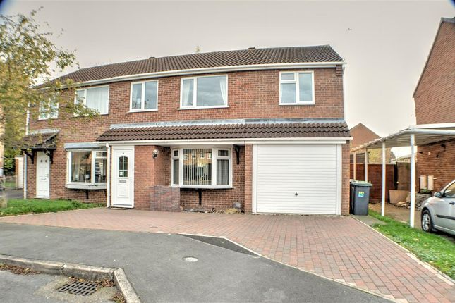 4 bed semi-detached house for sale in Ambleside Close, Sleaford
