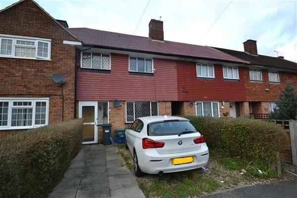 Thumbnail Terraced house for sale in Denham Road, Feltham