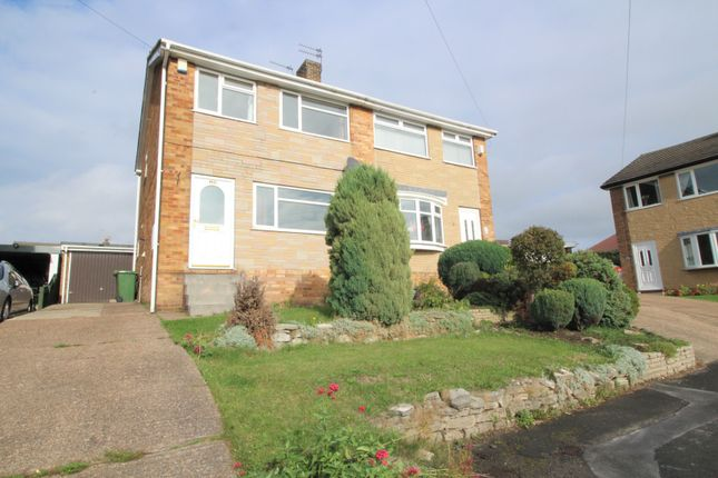 Thumbnail Semi-detached house to rent in Highland Close, Pontefract