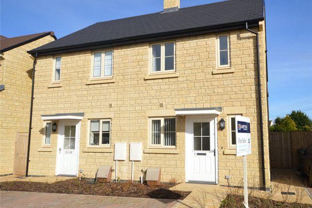 Thumbnail Semi-detached house for sale in Vosper Croft, Minchinhampton, Stroud, Gloucestershire