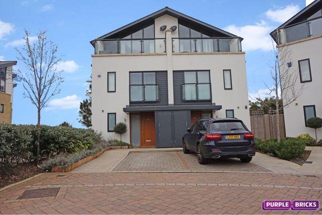 Thumbnail Semi-detached house for sale in Godwin Terrace, Harold Wood