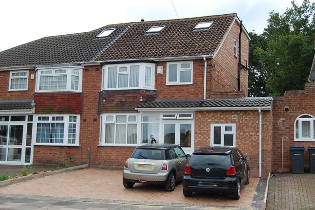 Thumbnail Semi-detached house for sale in Worlds End Road, Handsworth Wood, Birmingham