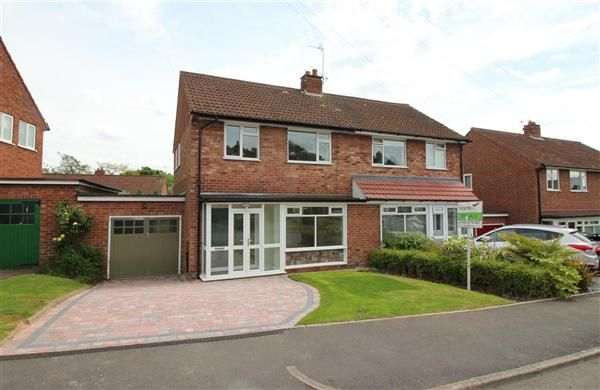 Thumbnail Semi-detached house for sale in Ryebank Close, Bournville, Birmingham