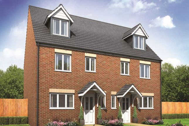 """Thumbnail Semi-detached house for sale in """"The Leicester"""" at Carleton Hill Road, Penrith"""