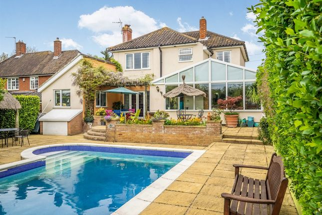 Thumbnail Detached house for sale in Cantley Lane, Cringleford, Norwich