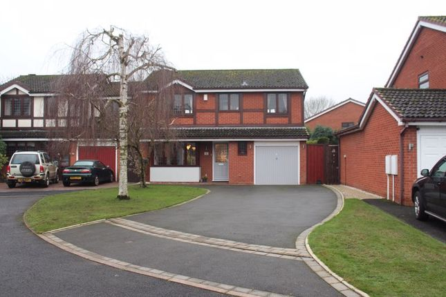 4 bed detached house for sale in Dunlin Close, Kingswinford DY6