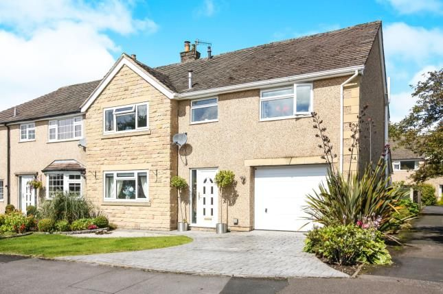 Thumbnail Semi-detached house for sale in Highland Close, Buxton, Derbyshire, High Peak