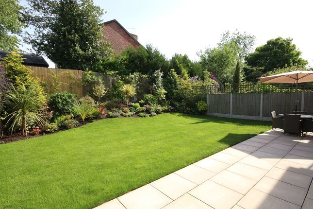 Rear Garden of Holywell Gardens, Birkdale, Southport PR8