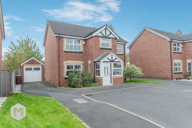 Thumbnail Detached house for sale in Walkers Drive, Leigh