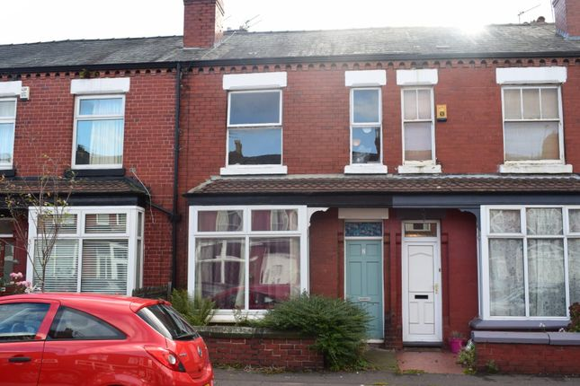 Thumbnail Terraced house to rent in Norwood Avenue, Didsbury, Manchester