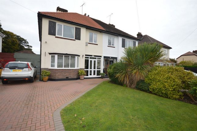 Thumbnail Semi-detached house for sale in Raeburn Ave, Bromborough, Merseyside
