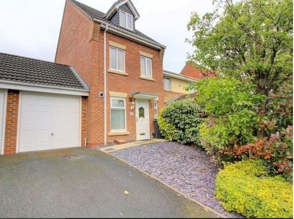 Thumbnail Town house for sale in Dudley Wood Road, Dudley