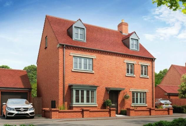 Thumbnail Detached house for sale in The Brackens, Radstone Fields, Halse Road, Brackley
