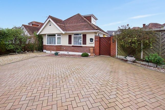 Thumbnail Bungalow for sale in Sherwood Avenue, Whitecliff, Poole