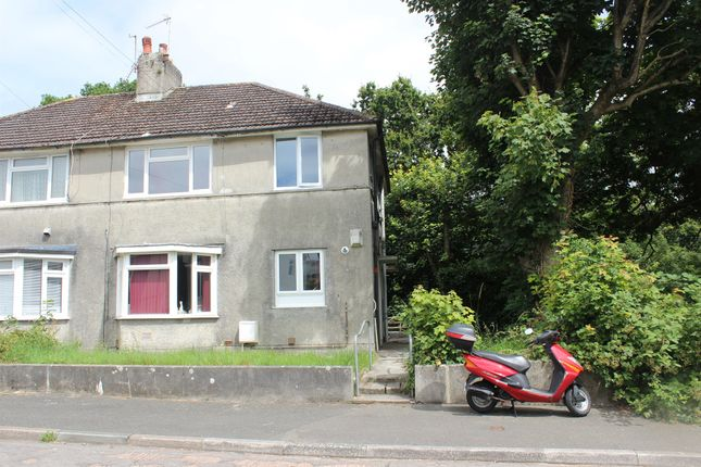 Thumbnail Flat for sale in Dryburgh Crescent, Plymouth