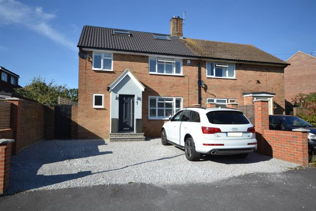 Thumbnail Semi-detached house for sale in Pulleys Lane, Warners End, Hemel Hempstead