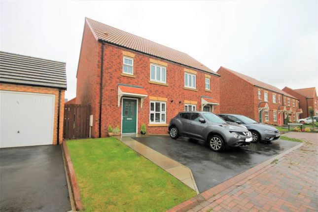 Thumbnail Semi-detached house for sale in Chaffinch Road, Houghton Le Spring