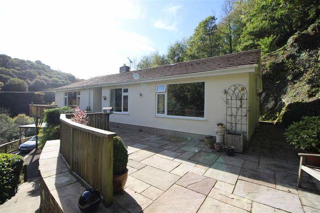 Thumbnail Detached bungalow for sale in Lynbridge, Lynton