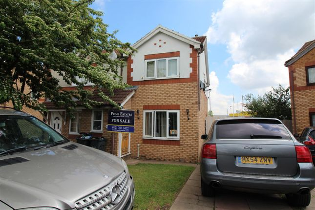Thumbnail Semi-detached house for sale in Herbert Road, Small Heath, Birmingham