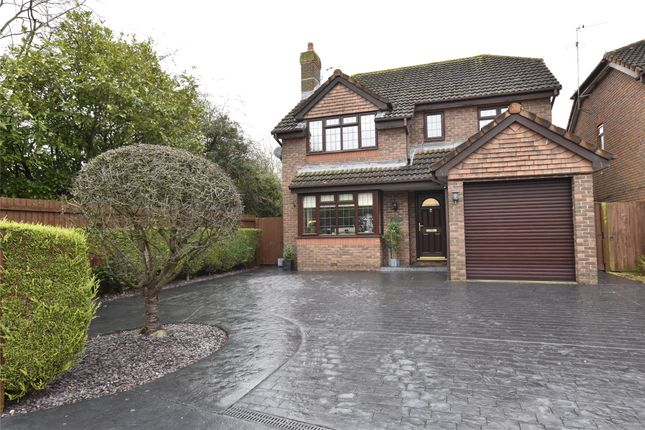 Thumbnail Detached house for sale in Kalana Stoke Road, Bishops Cleeve, Cheltenham, Gloucestershire