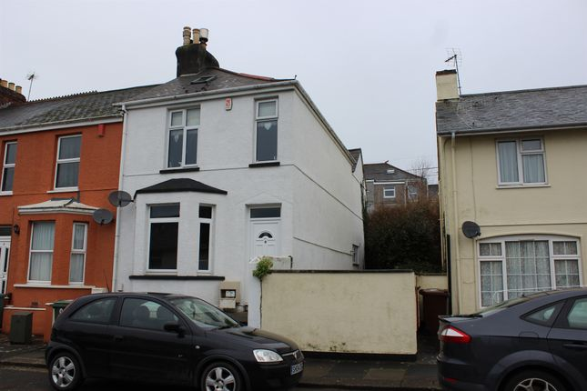 Thumbnail End terrace house for sale in Evelyn Street, Plymouth