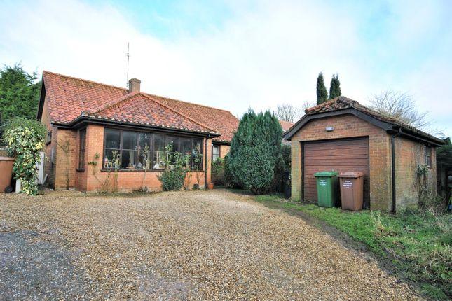 Thumbnail Detached bungalow for sale in Church Lane, Harpley, King's Lynn